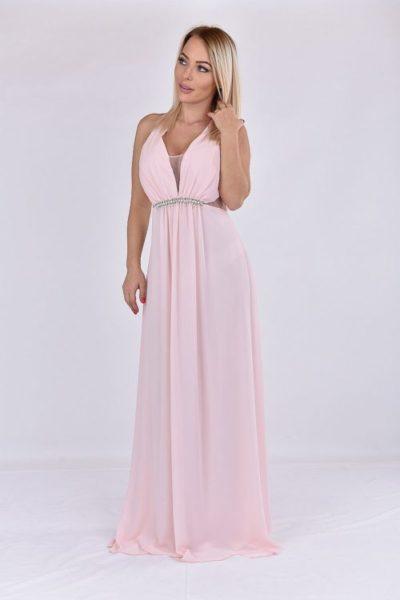 9cf85bdbc9 DINA halvány rózsaszín alkalmi ruha